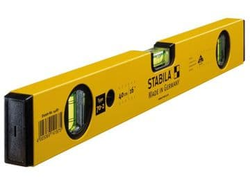70-2-40 Double Plumb Spirit Level 3 Vial 40cm